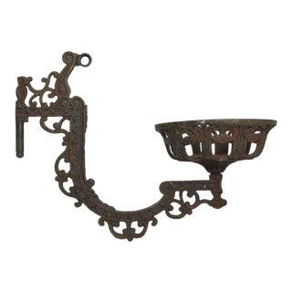 Victorian Kerosene Light Holder For Sale