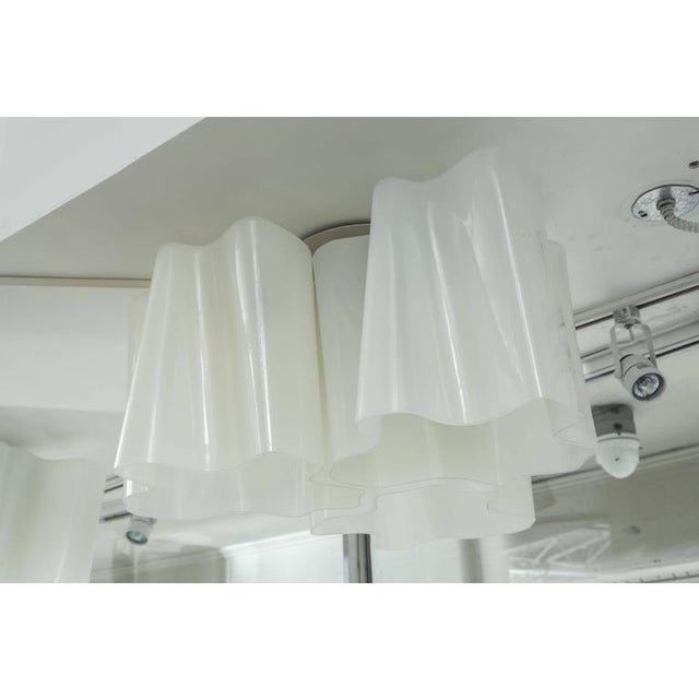 2000 - 2009 Modern Logico Triple Nested Semi-Flush Mount by Artemide Italy For Sale - Image 5 of 12