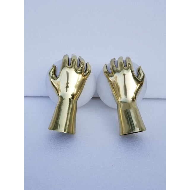 Maison Arlus Hand Sconces - a Pair For Sale In Miami - Image 6 of 8