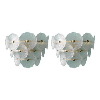 Mid 20th Century Vintage Parasole Sconces by Fabio Ltd. - a Pair For Sale