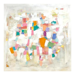 'Cartagena' Original Abstract Painting by Linnea Heide For Sale