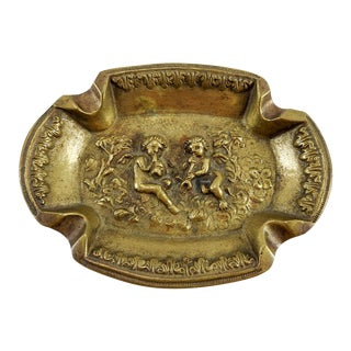 Brass Italian Puti Ashtray