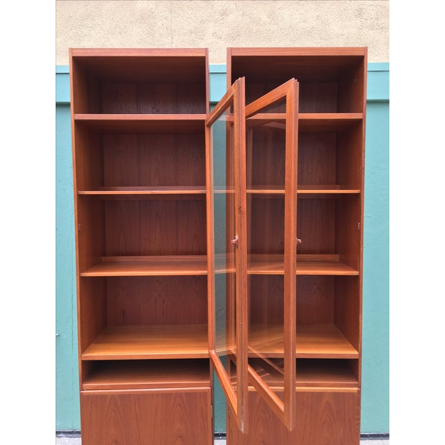 Danish Modern Bookshelves - A Pair - Image 3 of 11