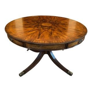 Theodore Alexander Regency Mahogany Center Table