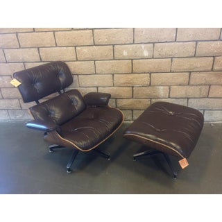 1970s Herman Miller Eames Lounge Chair and Ottoman-A Pair Preview