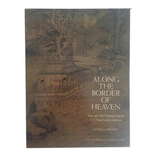 """ Along the Border of Heaven "" Vintage 1983 Mma Chinese Art History Slip Case Oversized Book For Sale"
