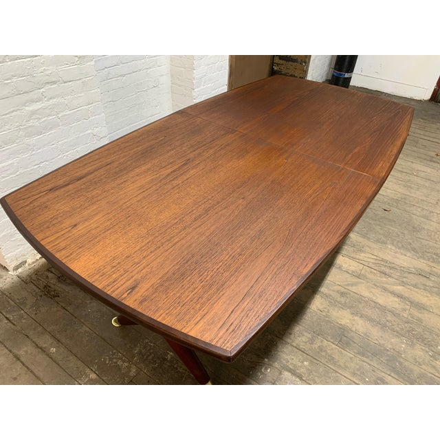 "Fredrik A. Kayser Fredrik Kayser ""Captains"" Dining Table For Sale - Image 4 of 9"