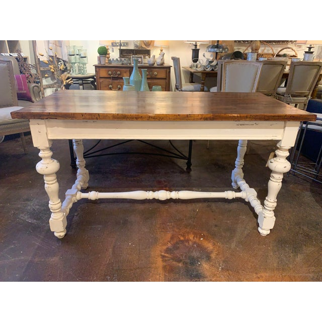 1910s French Farm Table For Sale - Image 13 of 13
