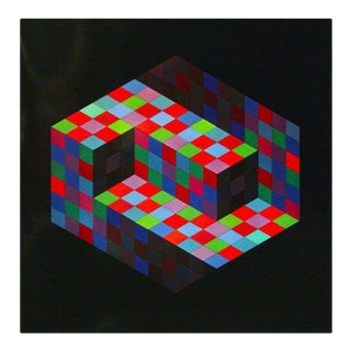 Victor Vasarely Gestalt Series Prints by Editions Du Griffon For Sale
