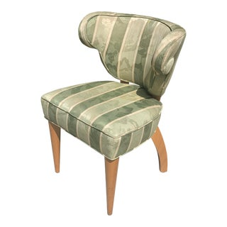 1950s Hollywood Regency Mid- Century Modern Occasional Chair For Sale