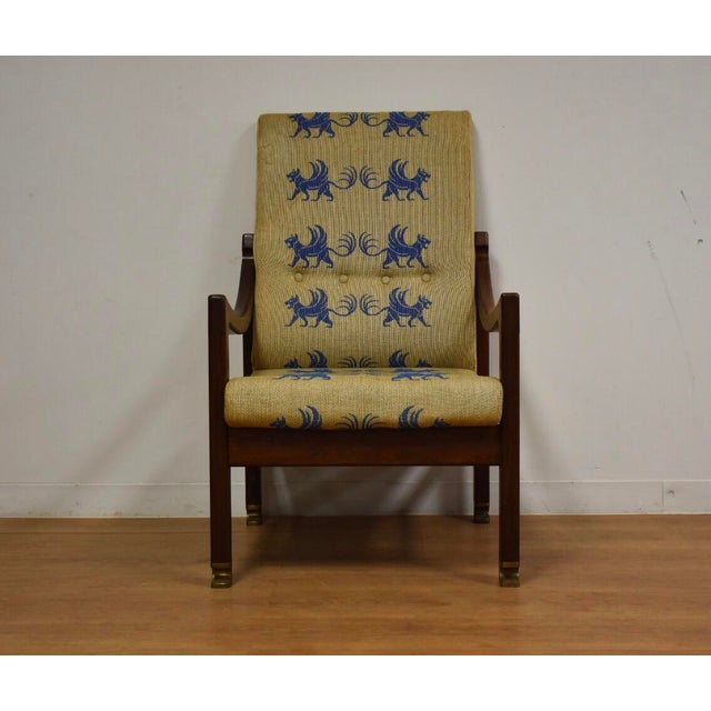 This extremely rare lounge chair was designed by Ib Kofod Larsen for the Megiddo Collection made in Israel commissioned by...