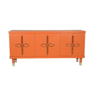 Robin Baron Orange Credenza