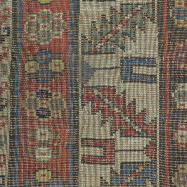 Antique Kazak Carpet - 5′2″ × 7′ - Image 6 of 6