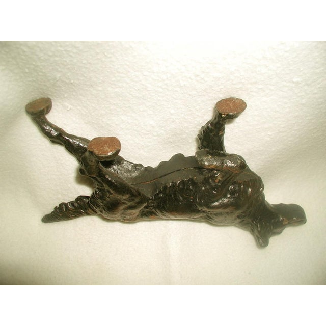 19th C. English Copper Cast Dog Setter - Image 7 of 8