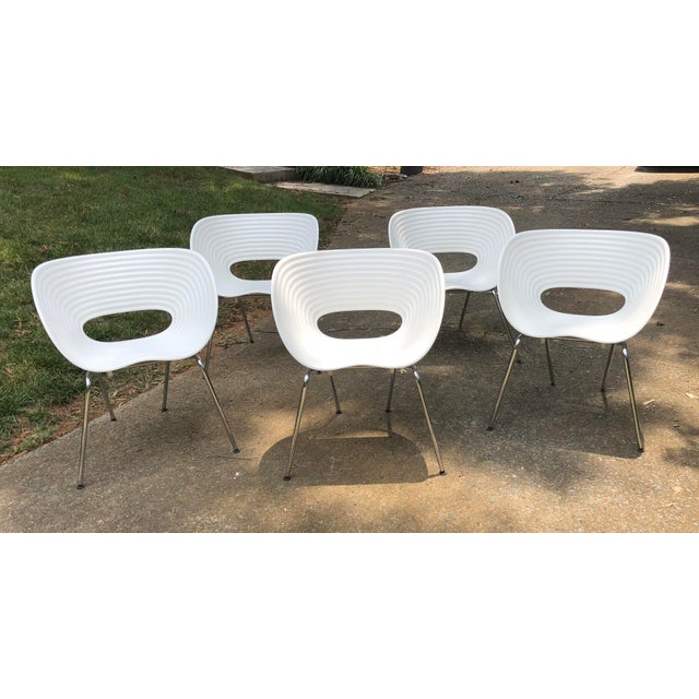 Tom Vac Ron Arad by Vitra Chairs - Set of 5 For Sale - Image 12 of 12