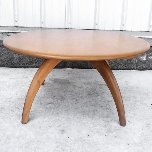 Mid-Century Modern Mid-Century Coffee Table by Heywood Wakefield For Sale - Image 3 of 13