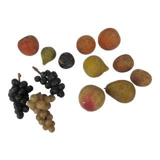 Vintage Alabaster - Italian Marble Fruit-13 For Sale