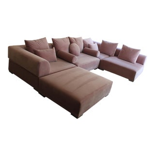 Custom 5 Piece Sectional Sofa For Sale