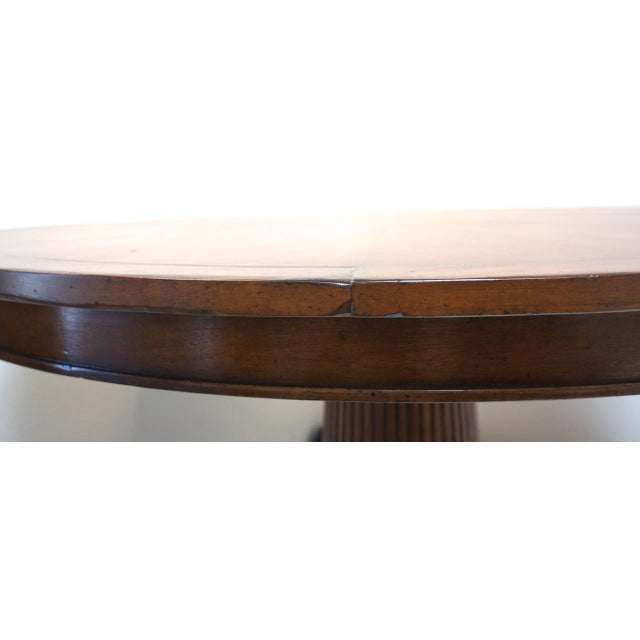 Prime Rose Tarlow 58 Round Mahogany Pedestal Dining Table Chairish Gmtry Best Dining Table And Chair Ideas Images Gmtryco