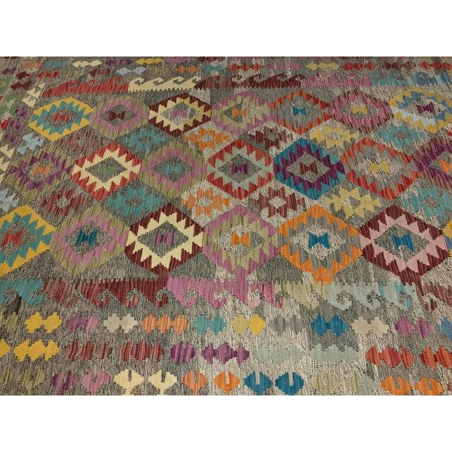 """Bellwether Rugs Wool Kilim Rug - 6'8"""" x 10' - Image 6 of 11"""