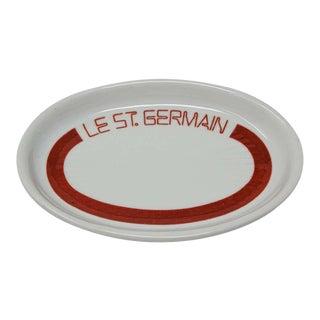 Porcelain Le St Germain Paris Ashtray Vide Poche For Sale