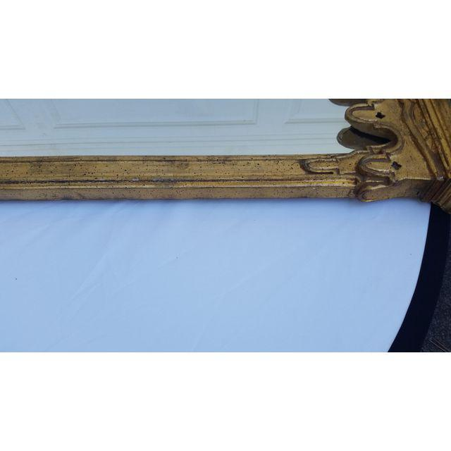 La Barge French Gold Pier Mirror & Console Table - Image 7 of 9