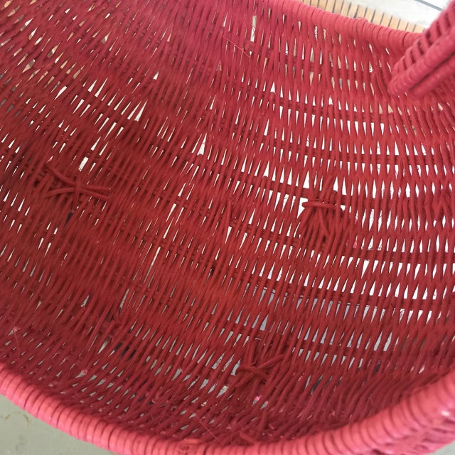 Red Swan Basket For Sale - Image 9 of 11
