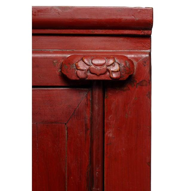 Antique Chinese Wedding Cabinet - Image 4 of 4