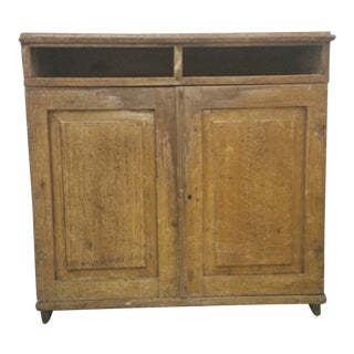 Late 19th Century Antique Swedish Patinated Sideboard For Sale