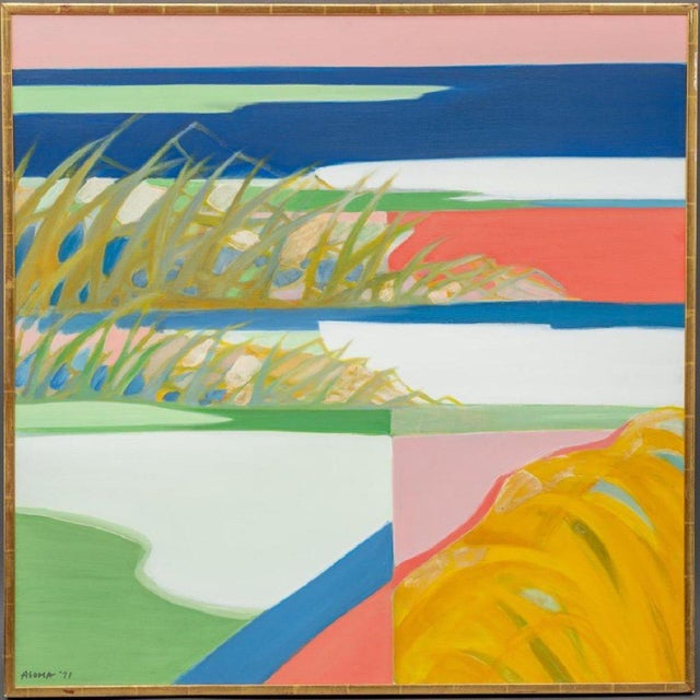 Tadashi Asoma (b.1923) was the recipient of a Japanese Government scholarship to study painting in Paris. After Paris, he...