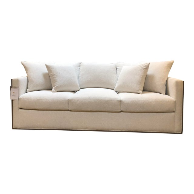 Rene Cazares Furniture Woody Upholstered Sofa For Sale