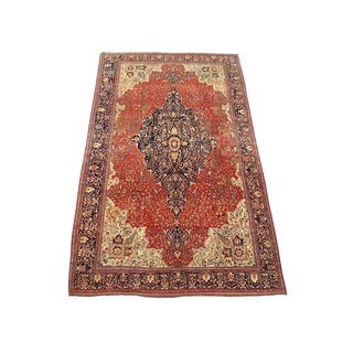 Over-Sized Fereghan Sarouk Carpet For Sale