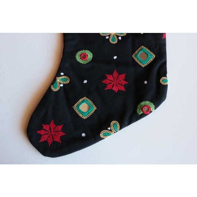 Indian Shisha Christmas Stocking For Sale - Image 5 of 6