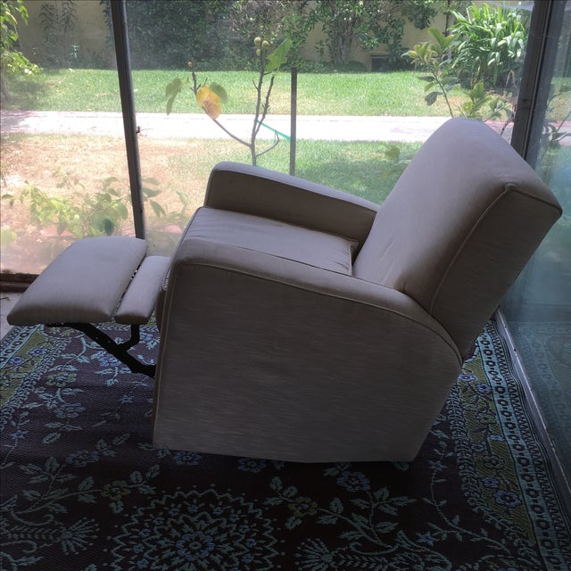 Classic Glider Recliner Club Chair - Image 7 of 11