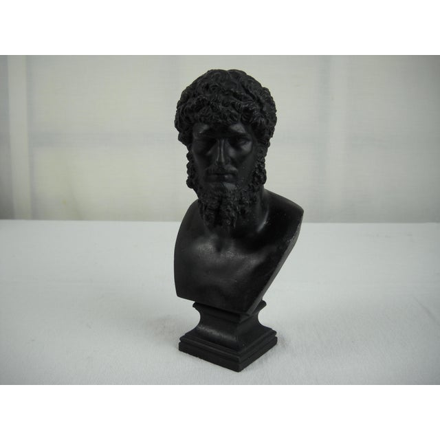 Classical Cast Metal Greek Bust - Image 7 of 8
