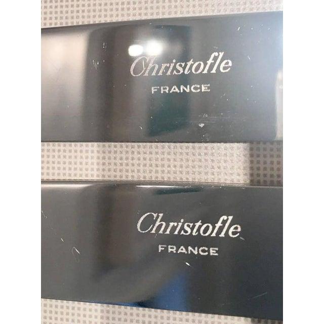1990s Vintage Christofle Silver France Triade 24-Karat Gold Flatware - 14 Piece Set - Image 4 of 5