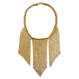30s Mesh Necklace For Sale