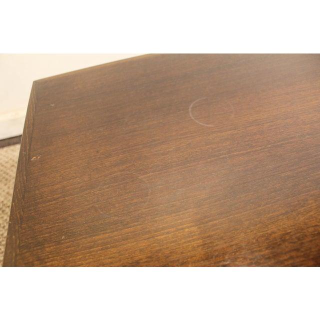 Mid-Century Danish Modern Adrian Pearsall Style Walnut Coffee Table - Image 11 of 11