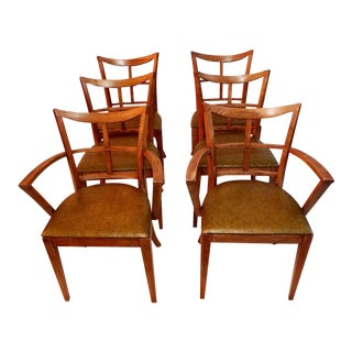 Mid-Century Chairs by Paul Frankl - Set of 6 For Sale