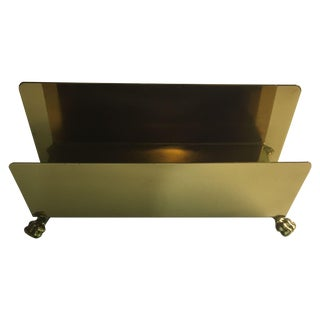 Vintage Brass Napkin Holder