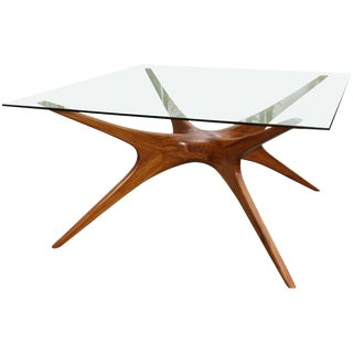 1970s Argentinian Dining Table in Petiribi Wood For Sale