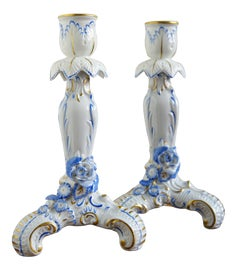 Image of Victorian Candle Holders