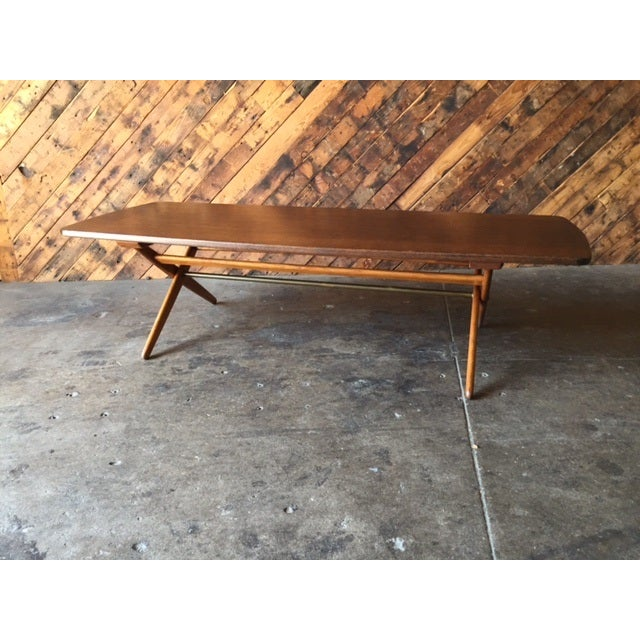 Mid-Century Danish Coffee Table by Ole Wanscher - Image 7 of 10