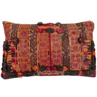 Afghani Pashtun Pillow For Sale