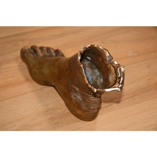 """Foot Sculptures in Bronze, """"Bronzo Dorato"""" For Sale - Image 5 of 8"""