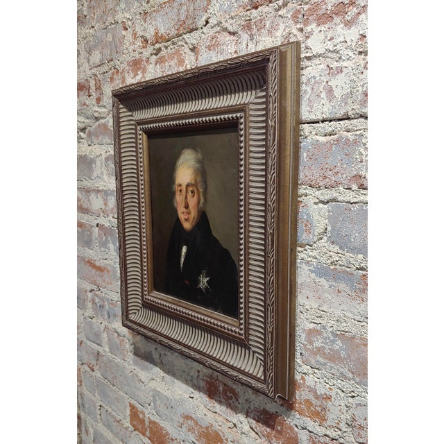 Portrait of Andrew Jackson - 19th Century Oil Painting For Sale In Los Angeles - Image 6 of 8