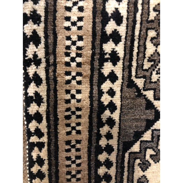 Islamic Vintage Persian Gabbeh Rug For Sale - Image 3 of 5