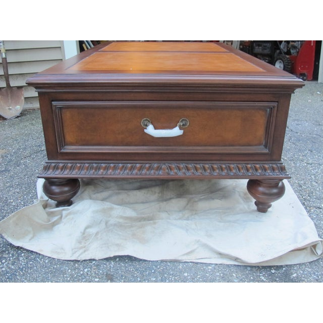 Ethan Allen Morley Coffee Table For Sale - Image 5 of 8