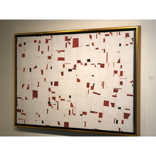 Cecil Touchon Contemporary Collage on Canvas by Cecil Touchon For Sale - Image 4 of 11