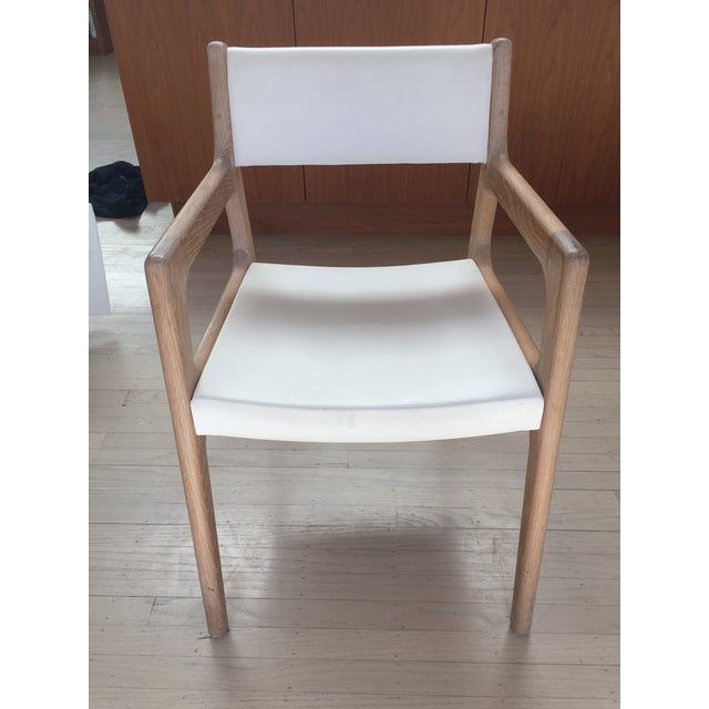 These set of 2 Deer chairs are exquisite craftsmanship in solid white oak. Because these are armchairs they don't fit...